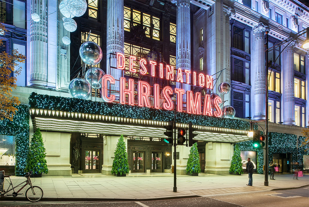 Selfridges Christmas Paul Ricketts