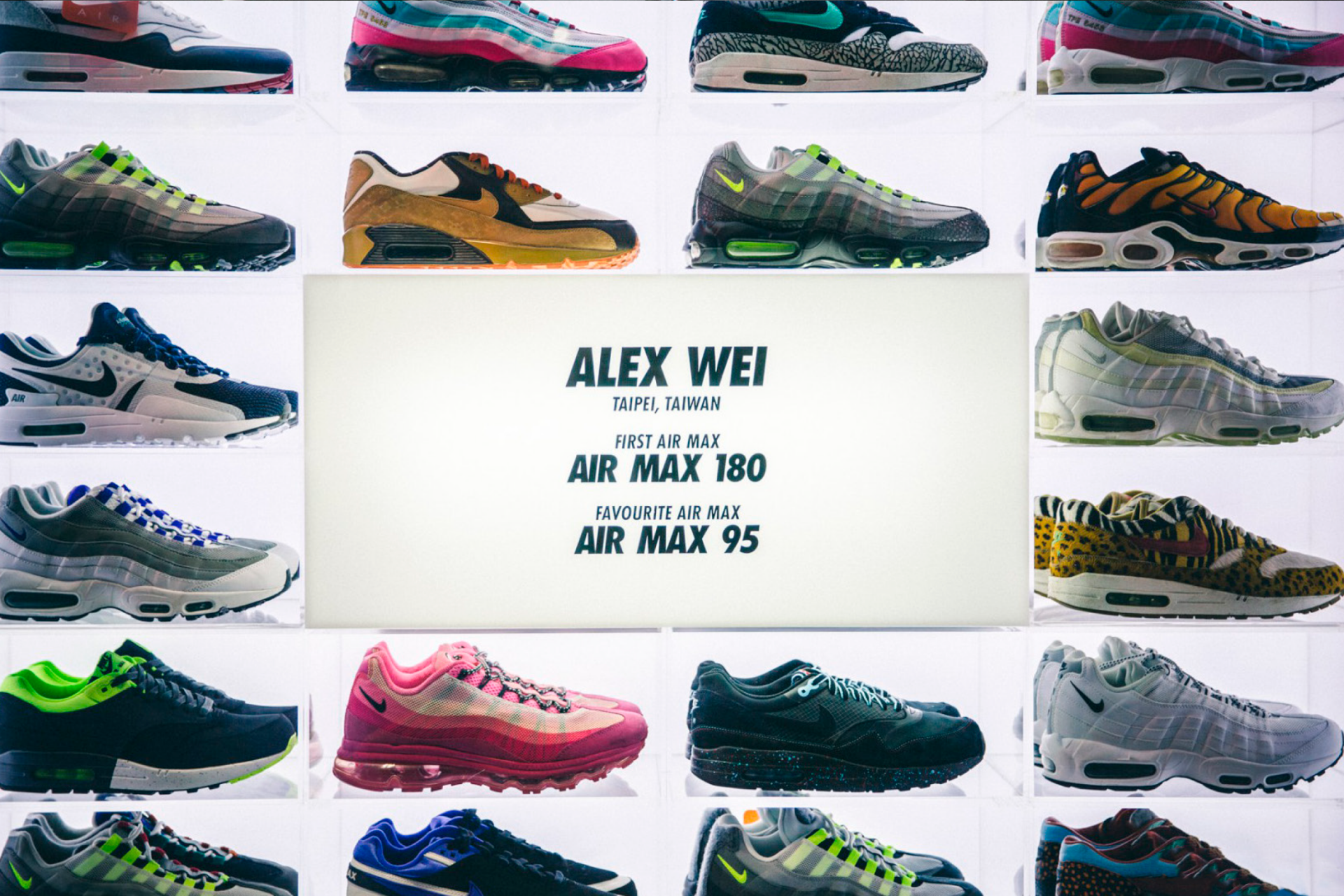 Nike Air Max Con Paul Ricketts